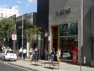 Stores In The Rua Oscar Freire