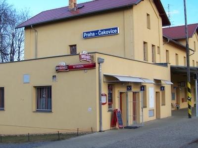 Praha-Čakovice Railway Station