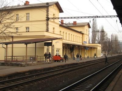 Praha-Vršovice Railway Station
