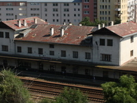 Praha-Vysočany Railway Station