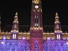 Rathaus At Night