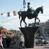 Equestrian Statue of Queen Wilhelmina