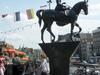 Equestrian Statue Of Queen Wilhelmina On Rokin