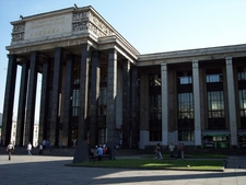 New Building Of The Library