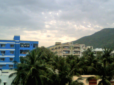 Simhachalam Hill View From Seethammadhara