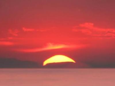 Beautiful Sunset In Pokhara