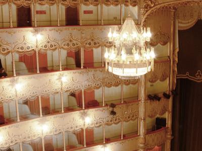 Interior Of The Teatro Goldoni