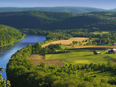 The Susquehanna River Near French Azilum