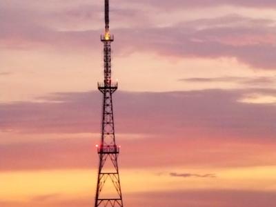 Tv Tower In Bhootnath Road As Seen From Priyadarshi Nagar