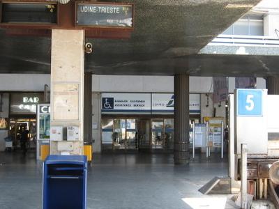 Venezia Santa Lucia Railway Station Platform