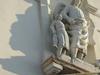 Statues Of Tobias And Raffaele Over Entrance