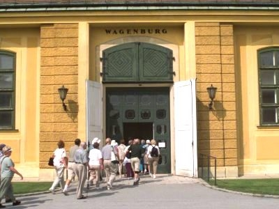 The Wagenburg Museum Entrance