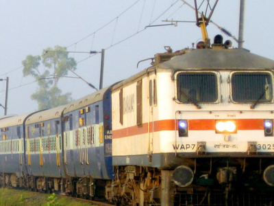 W A P   7 Class Electric Locomotive Of  Indian  Railways