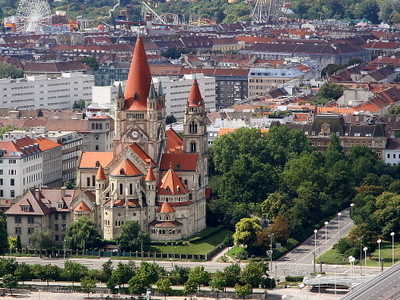 St. Francis Of Assisi Church And The Mexikoplatz