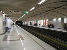 Megaro Moussikis Metro Station