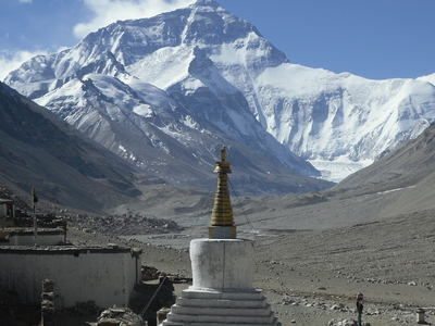 Everest Base Camp Ronbuk