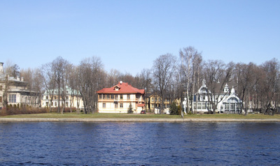 Kamenny Island,  View Over The Malaya Nevka River