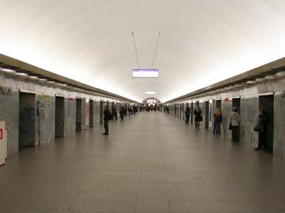 Moskovskaya Metro Station Hall