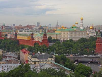 Kremlin Hill And The Kremlin