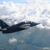 A Light Attack Aircraft Of The Philippine Air Force Airplane Flies Over Mount Apo.