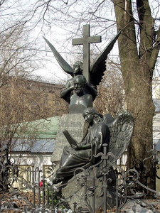 The Grave Of Pyotr Ilyich Tchaikovsky