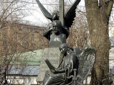 The Grave Of Pyotr Ilyich Tchaikovsky