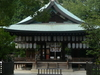 The Haiden Of Shiramine-jingū