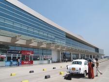 The Facade Of Varanasi Airport 2 C Varanasi