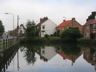 Village Pond At  Wetwang