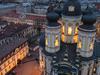 Vladimirskaya Church View From The Belfry