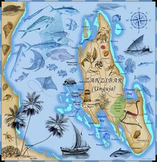 Zanzibar Maps Tanzania Maps Africa Maps 1