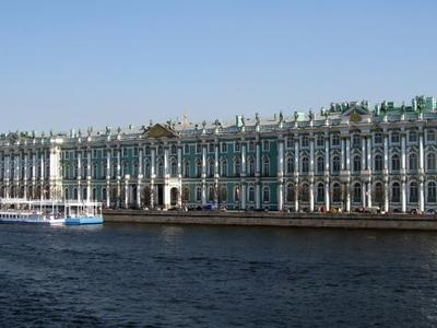 The Winter Palace's Neva Facade