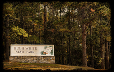 Hugh White State Park Sign