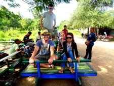 Sunsai Tours Battambang Bamboo Train 2