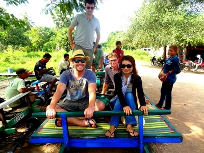 Sunsai Tours Battambang Bamboo Train 2
