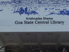 State  Central  Library  Goa   2 8now  2 C The  Krishnadas  Shama  Central  Library  2 9 At  Panjim  2 C  Goa  2 C  India  0 1