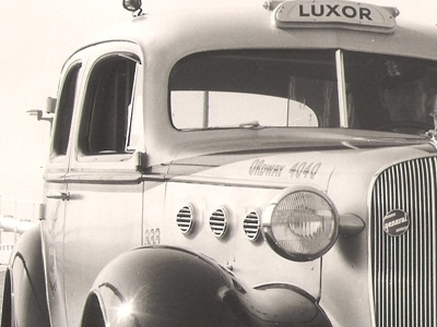 Luxor Cabin 1938 Luxor Was The First Cab Company To Cross The New Bay Bridge