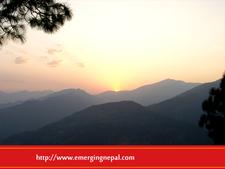 Nagarkot Sun Setting