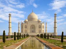 Taj Mahal Agra Uttar Pradesh India Wallpaper