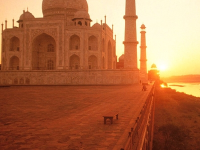 Taj Mahal Morning Sunrise Hd Wallpapers Images Pics