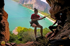 Climbing Railay Viewpoint