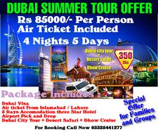 Dubai Summer Offer