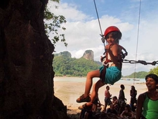 Family Fun Rock Climbing Railay
