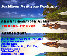 Maldives New Year Packages
