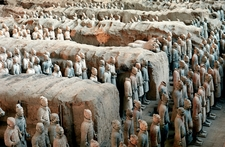 Terracotta Warriors In Xian With China Holidays
