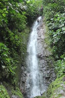 Waterfall Rappel Costa Rica Brenda & Christopher