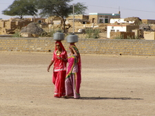 Fetching Water In Rajasthan India