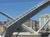 Gateshead Millennium Bridge Open