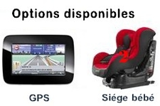 Options Voiture