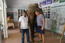 Dinuka With A Client 2